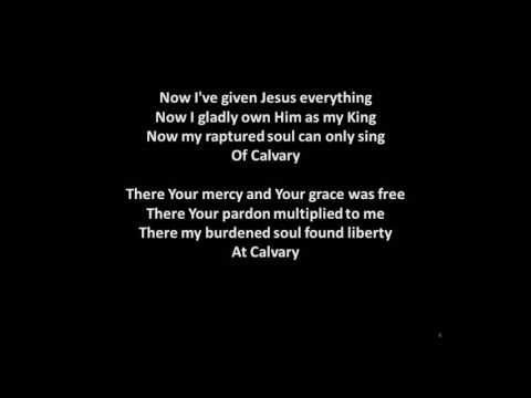 At Calvary with Lyrics