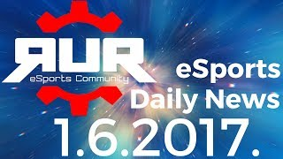 eSports vesti (01.06.2017.)