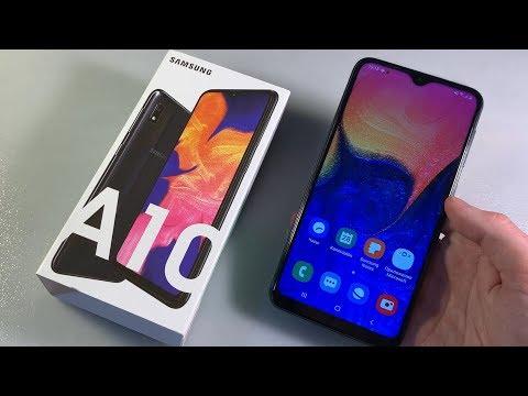 Обзор Samsung Galaxy A10 (A105F)