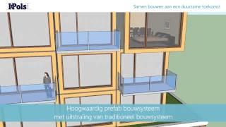Modulair bouwsysteem van Iz Pols