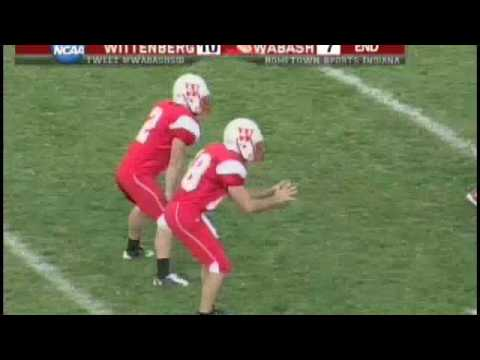 Wabash Football Highlights - Wabash vs. Wittenberg 2009