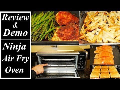 ninja-foodi-digital-air-fry-oven-review-and-demo