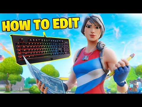 How To Improve Your Editing On Keyboard & Mouse (Fortnite Battle Royale)