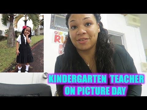 School picture day! Day in the life of a Kindergarten Teacher on picture day!