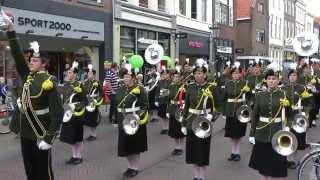 Showband Urk Straatparade Kampen