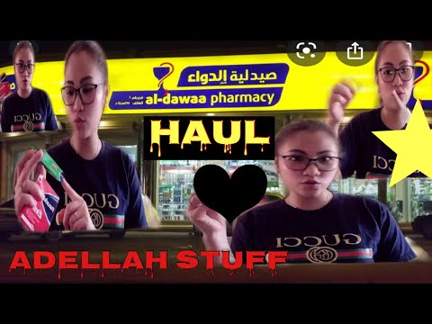 ALDAWAA HAUL/ADELLAH STUFF