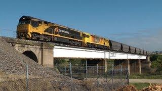 NSW Railways - Hunter Valley & Ulan Line 4 Nov 2011: Australian Trains