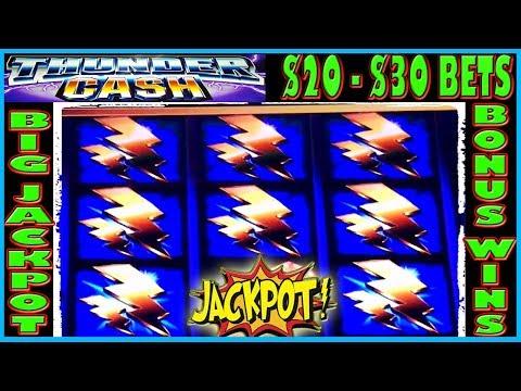 ★ JACKPOT  HANDPAY THUNDER ⚡ SUNDAY FUNDAY ★ BONUS $20 -$30 BETS ★ HIGH LIMIT SLOT MACHINE ★