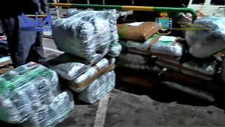 Bari, sul motoscafo con mezza tonnellata di droga: 48enne arrestato per traffico internazionale