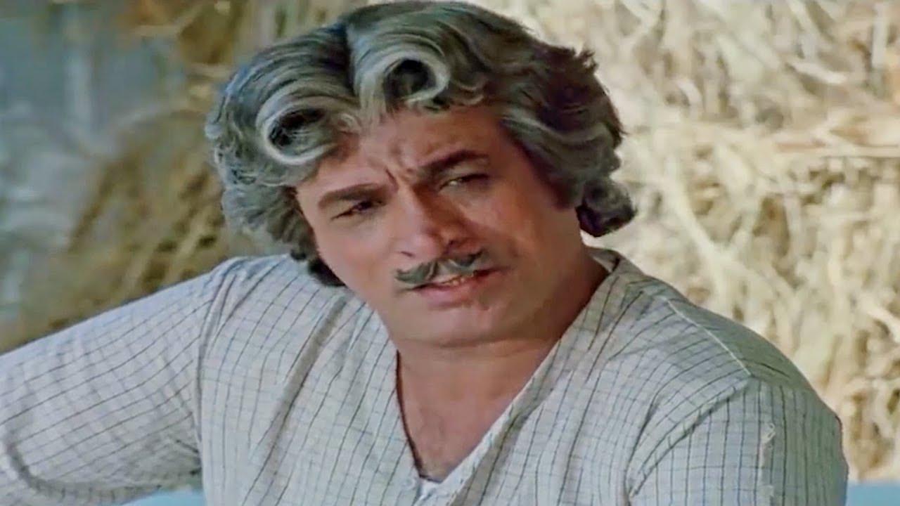 मुर्गी बेचनेवाला जब खुद को राजा समझने लगा तब देखिये क्या हुआ - कादर खान का कॉमेडी सीन