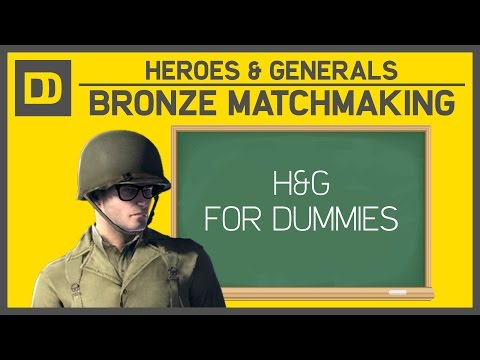 heroes and generals matchmaking bronze