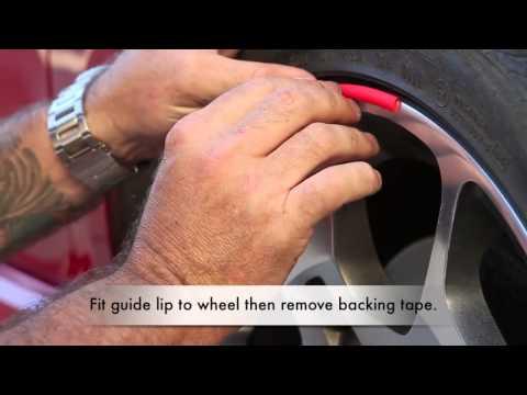 Installing Scuffs Alloy Wheel Rim Protectors by Rimblades