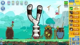 Angry Birds Friends Tournament 301-B Level 1 POWER UP Walkthrough