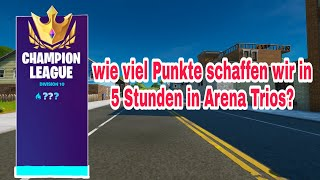 Wie viele Arena Punkte schaffen wir bis zum Shop ? | Arena Trios | fortnite live deutsch | teamnice