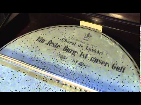 A Mighty Fortress Is Our God Played On 1899 Stella Grand Console Music Box