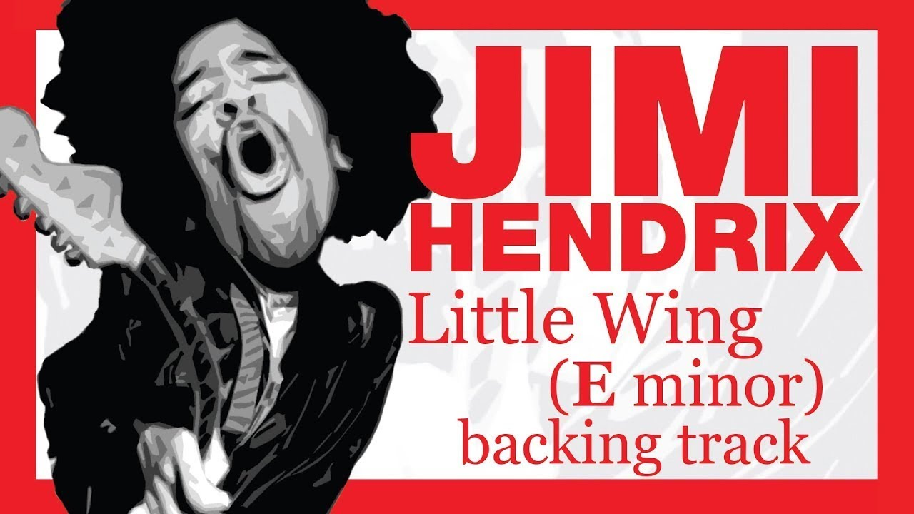Download JIMI HENDRIX - Little Wing in Em (14 minutes backing track)