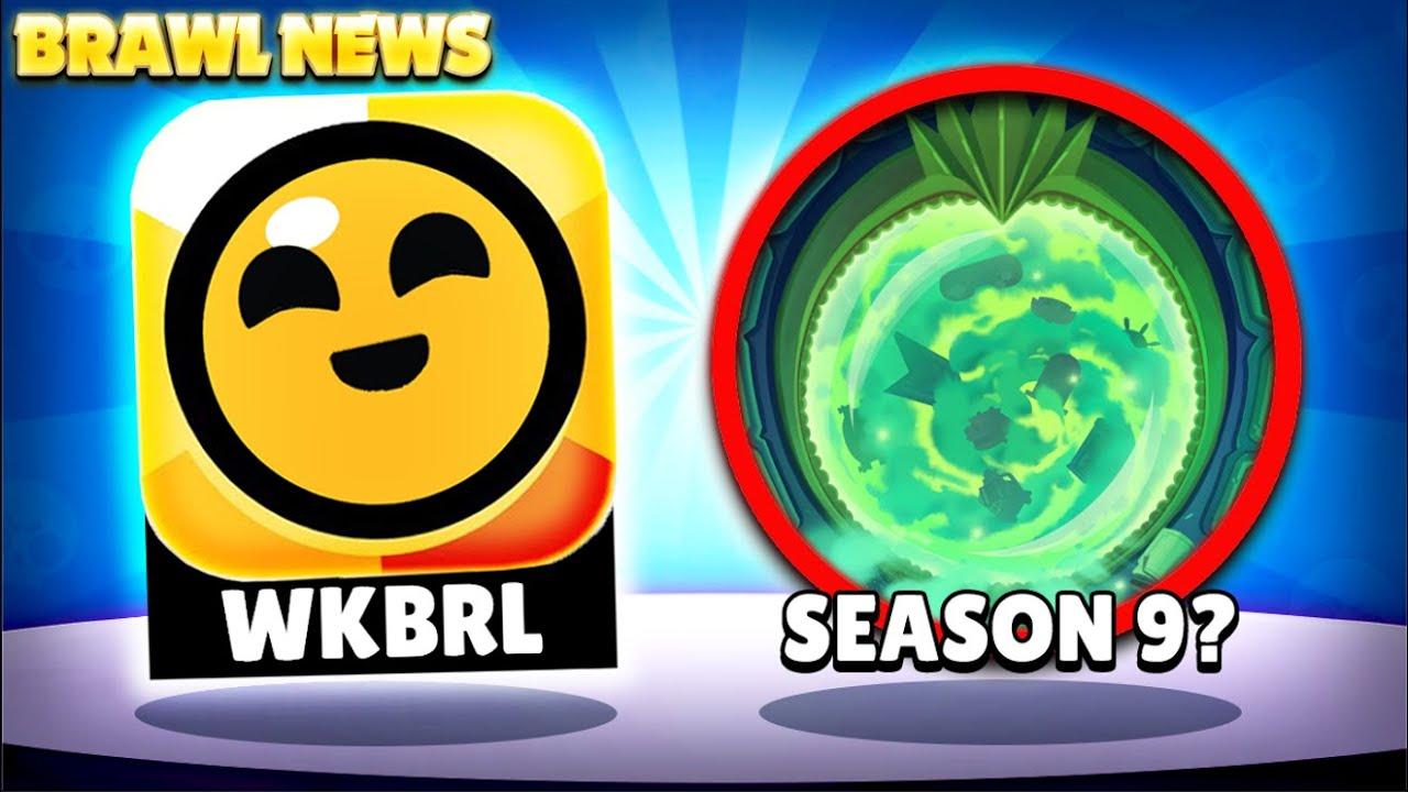 BRAWL NEWS! - Season 9 Hints Already?! | Mid Seasonal Update When? WKBRL Stream Down Intentional?