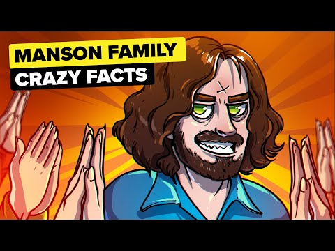 Crazy Facts About The Manson Family (True Crime)