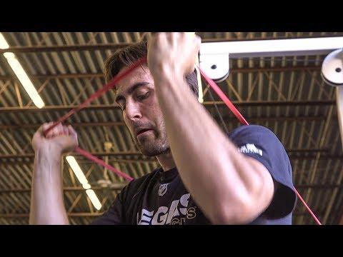 Vegas Golden Knights forward Alex Tuch stays sharp in Syracuse (video)