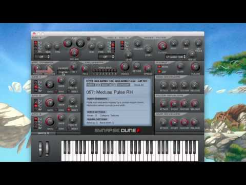 Review of Synapse Audio's Dune Softsynth VST - AU Plugin