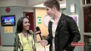 China Anne McClain On The Set of Disney Channel's New Series