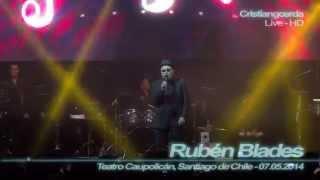 Rubén Blades - Plástico ( Teatro Caupolicán, Santiago de Chile - 07.05.2014 )