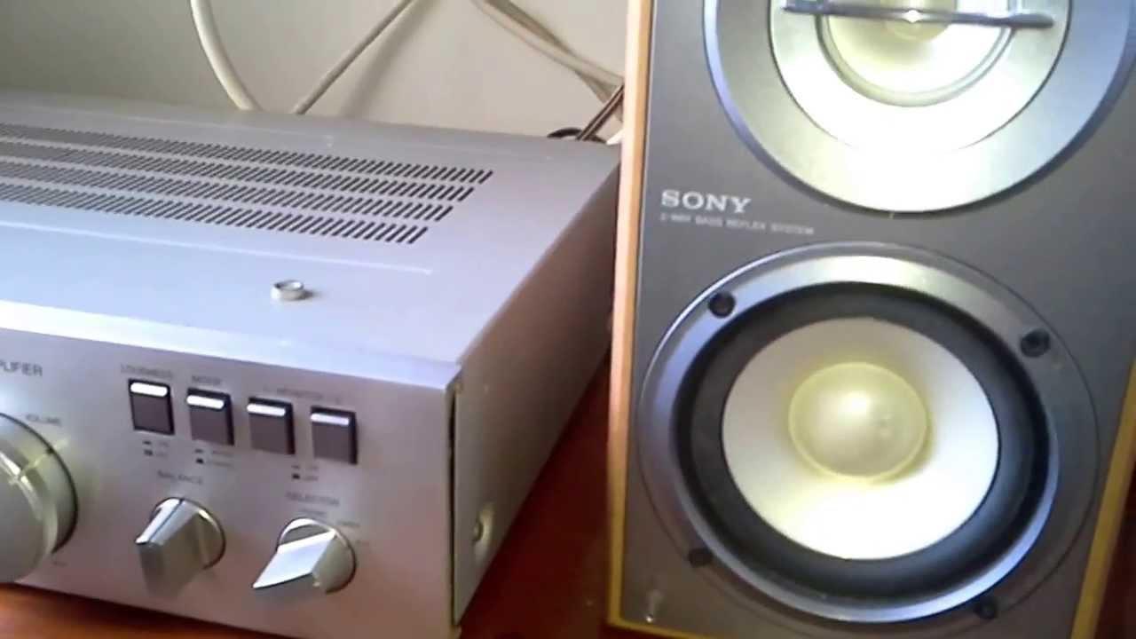 Gradiente Model 126  Caixas Sony