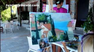 Макс Скоблинский уроки живописи Уроки в Греции и отзывы участников Игорь Сахаров
