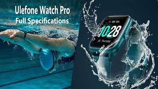 Ulefone Watch Pro Full specifications