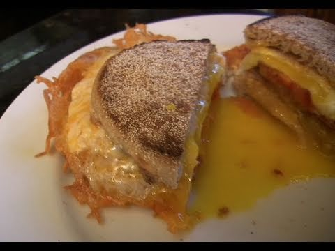 Crispy Egg and Cheese Sandwich – How to fry an egg