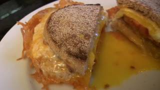 Crispy Egg and Cheese Sandwich - How to fry an egg