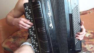Плясовая из песни Фирдуса Тямаева - Дусларга на баяне