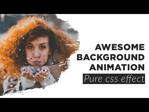 Pure CSS Animated Background   CSS Animation Tutorial
