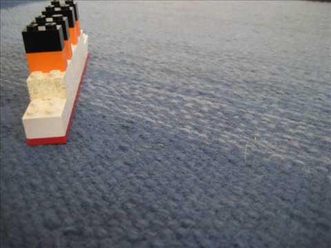 Lego Britannic Sinking Lego Britannic Trailer