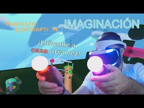 PlayStation VR Demo | FANTASTIC CONTRAPTION | NO soy buen ARQUITECTO... XD