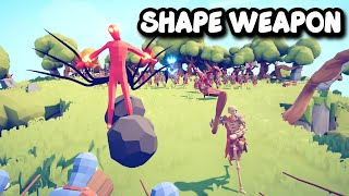 SHAPESHIFTER + WEAPONSMASTER Vs EVERY UNITS + MOD UNITS   TABS - Totally Accurate Battle Simulator