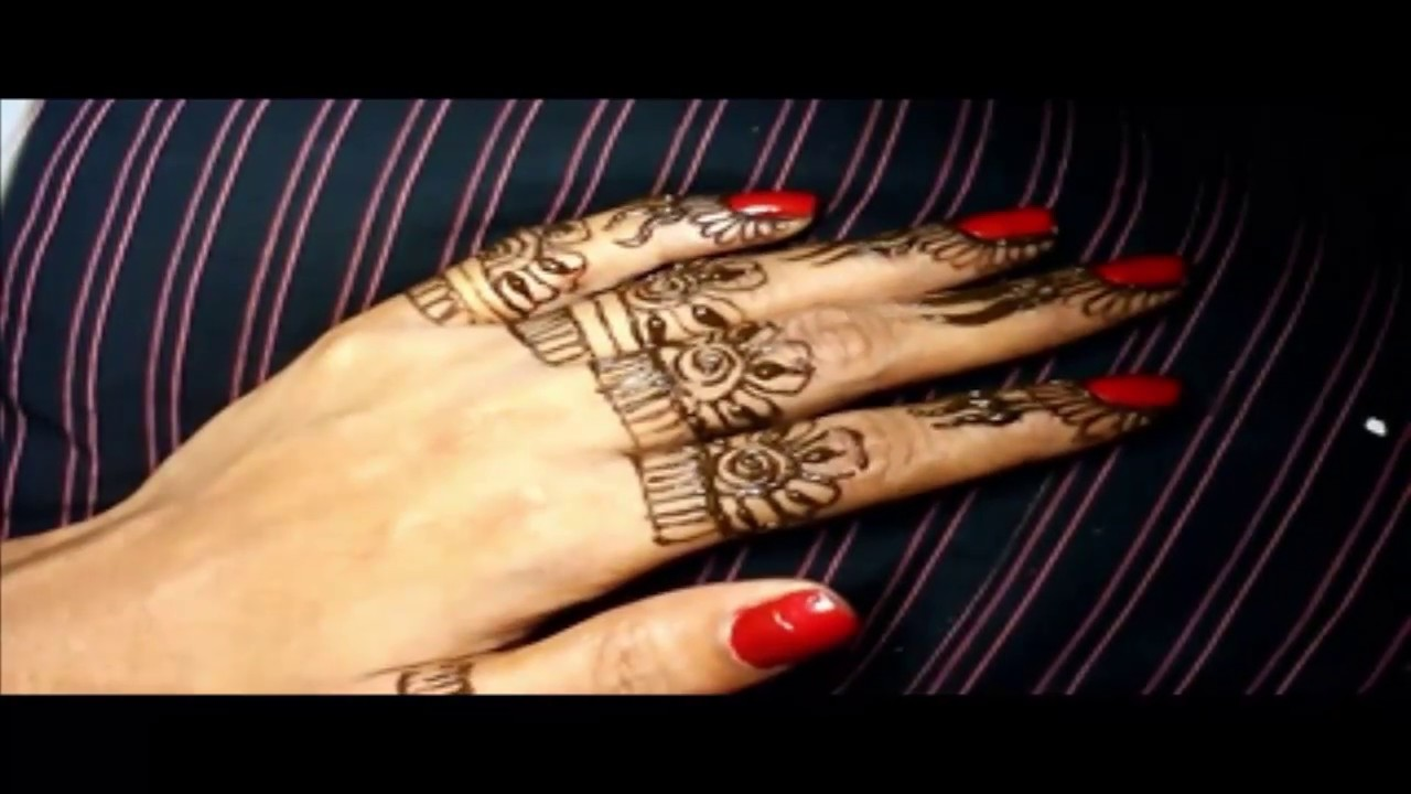 7cc9f8488 Small Mehndi Design For Finger Tutorial Fantastic Mehandi Designs by beauty  subash