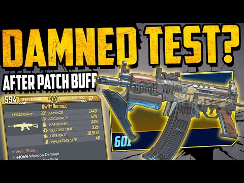 The DAMNED - After April 2nd  Patch/Buff Testing - Is It TOP TIER Now? - Borderlands 3 Weapon Guide