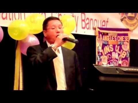 LA Chinese Lions Karaoke Song Allan 30June2013