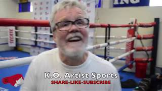 """LOL! """"(MIKEY) DOESN'T GIVE A F**K WHO HE (LOMA) IS!"""" ROACH ON LOMA VS MIKEY!"""