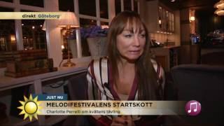 Charlotte Perrelli om näthatet - Nyhetsmorgon (TV4)