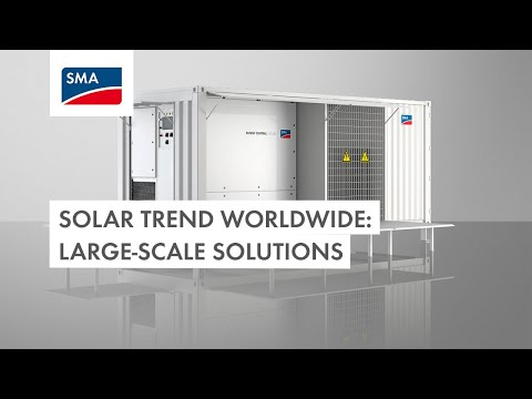 Solar trend: Up-and-Coming Large-Scale Storage Solutions Worldwide
