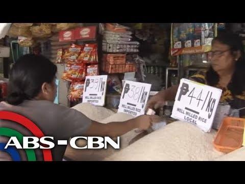 TV Patrol: Ilang nagtitinda, 'lugi' sa SRP, bagong labeling sa bigas