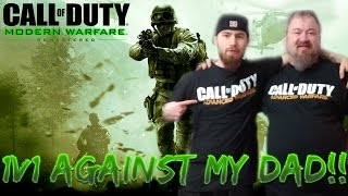 1v1 MY DAD in MODERN WARFARE REMASTERED! - HE CHOOSES MY CLASS!