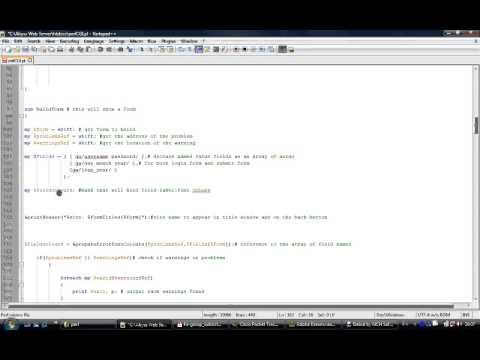 Using MVC in Perl CGI script
