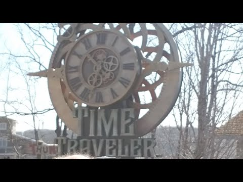Silver dollar city opening up time traveler live