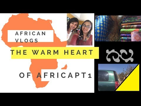 African Vlogs: The warm heart of Africa (Visiting a typical African Market)