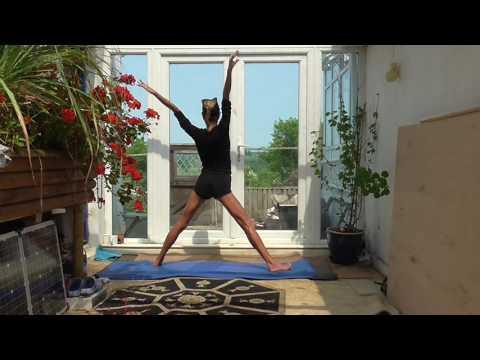 Yoga lesson part 2