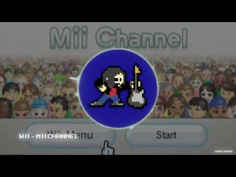 Wii  Mii Channel 8Bit