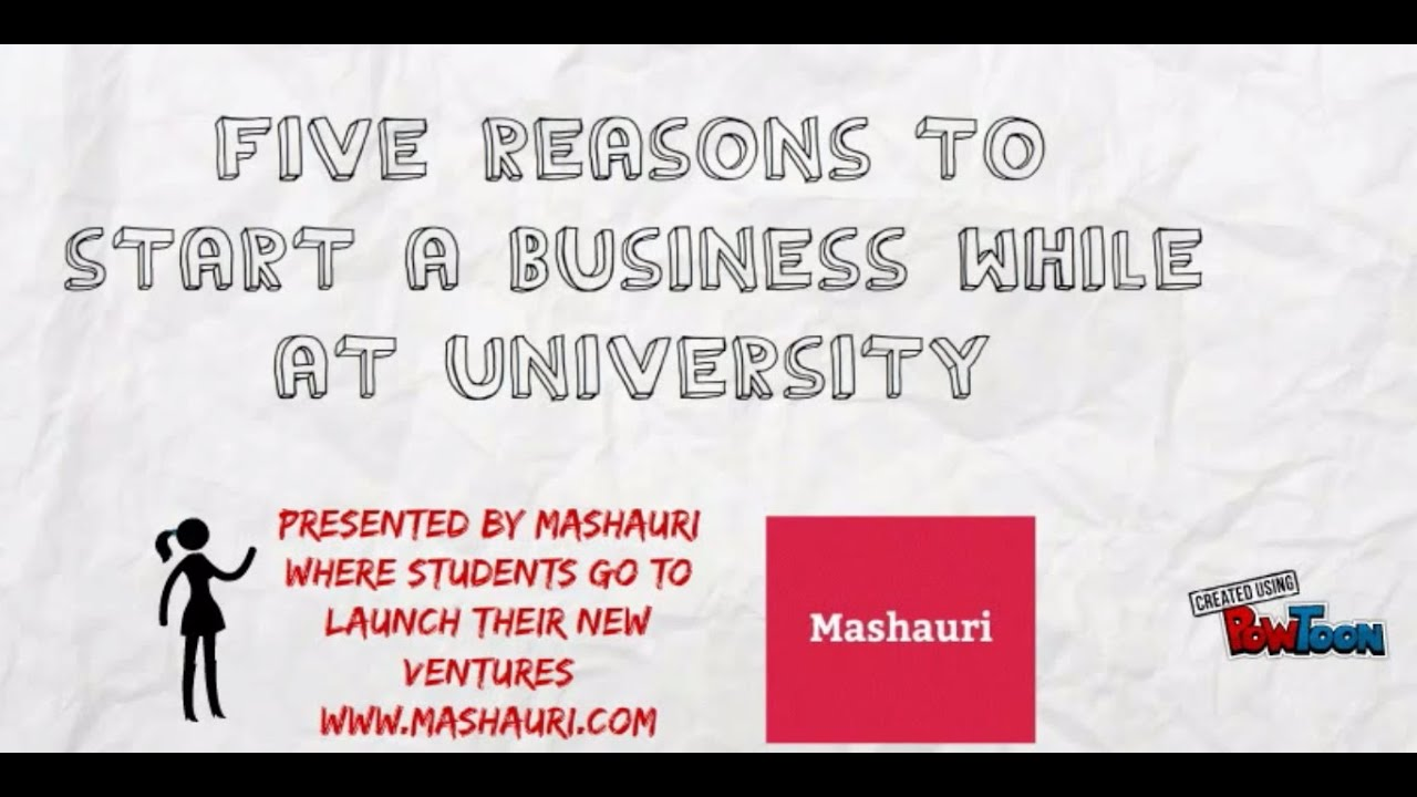 Starting a business while in University?